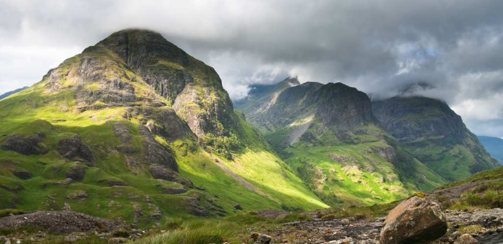 glencoe valley. loch ness and the highlands tour